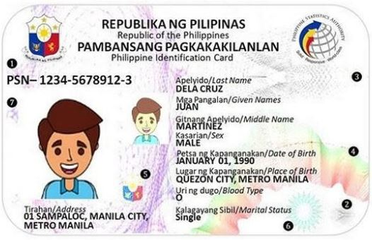 how to apply national identity card Philippines